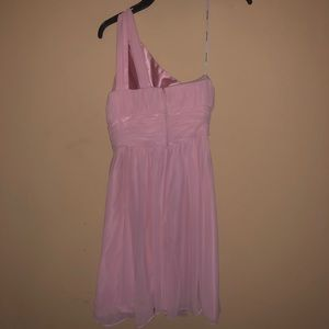 Weddington Way Dresses - Pink chiffon bridesmaid dress